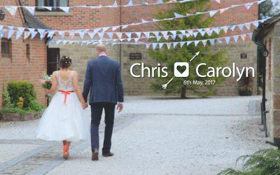 Chris & Carolyn – May 6th 2017